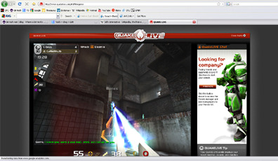 Free Quake III multiplayer in your browser