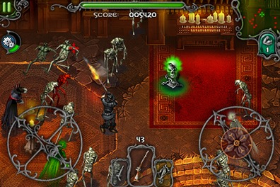 iDracula, it's like The Chaos Engine on the iPhone iDracula, it's like the Chaos Engine on the iPhone
