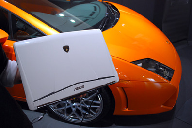 New laptops at the Asus Lamborghini Event Asus Lamborghini Event