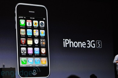 The iPhone 3GS - You can't beat them, so join them, but you can still hate them... If you can't beat them, join them, but you can still hate them.