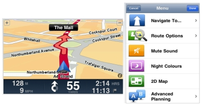 Using the iPhone as a sat nav iPhone Sat Nav apps - Copilot vs TomTom