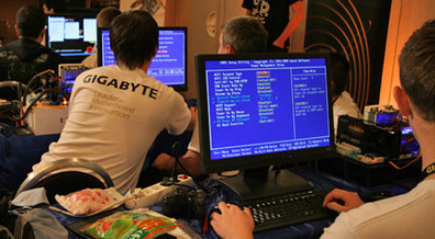Gigabyte TweaKING OC Event: European Final