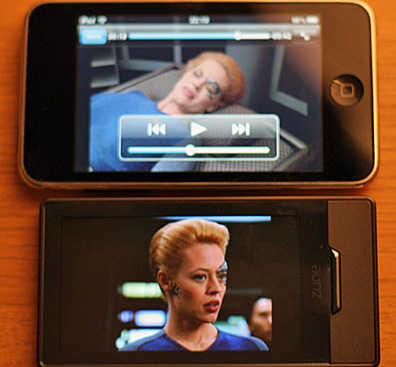 Zune HD versus iPod Touch: Round 2, Video