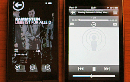 Zune HD versus iPod Touch: Round 1, Music Zune HD versus iPod Touch: Part 1, Music