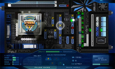 Asus Motherboard Mayhem Flash Game