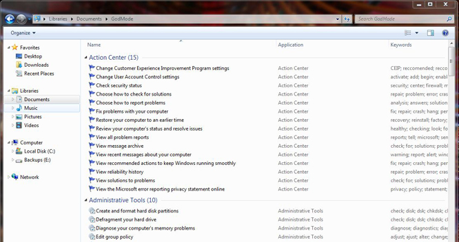 How to enable Windows 7 God Mode