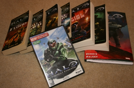 Books based on games: Halo Why I love Halo– now hear me out