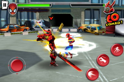 iPhone Review: Ultimate Spiderman: Total Mayhem