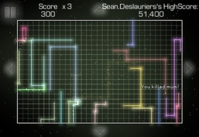 Hard Lines iPhone Review iPhone Game: Hard Lines Review