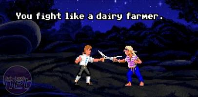 "The decline of memory challenges in games ""You fight like a dairy farmer..."""