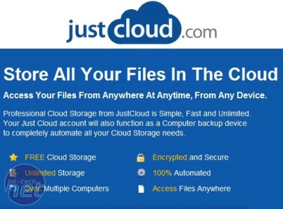 Just Cloud is a terrible backup service