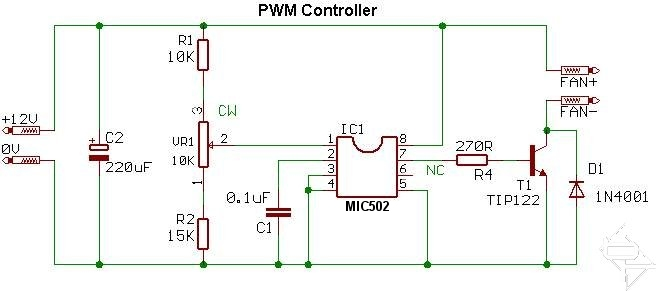 Pwm Fan Controller Bit Tech Net