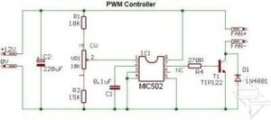 PWM Fan controller Simple PWM Fan Controller