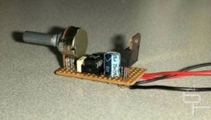 PWM Fan controller Building the circuit