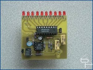 HDD Activity Meter The Circuit