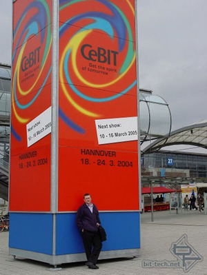 CeBIT 2004 Part 1 In the beginning there was...