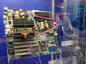 CeBIT 2004 Part 4 Water Cooling