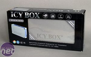 Icy Box USB 2.0 External Drive Packaging and Contents