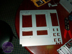 The Hummer PC Motherboard mounting