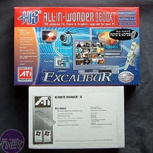 HIS All-In-Wonder 9600 XT The Card