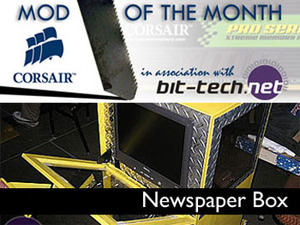 Corsair Mod Winner: Newspaper Box Introduction