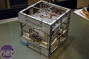 Hypercube² Part I Core Back Plate