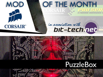 Corsair Mod Winner: Puzzlebox The concept