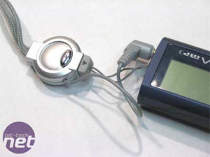 Ultra 8-in-1 MP3 Player The player in use