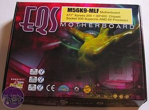 EQS M56K9-MLF Motherboard The Board