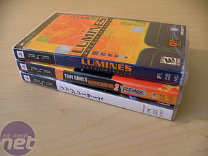 Sony PSP - a month later Games