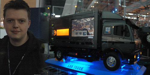 WCG 2005: European Case Modding Show LAN Truck by Ant