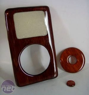 Real Wood iPod by ZapWizard Construction
