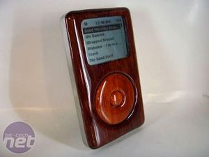 Real Wood iPod by ZapWizard Eye Candy
