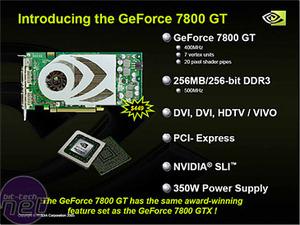 BFGTech & XFX GeForce 7800 GT GeForce 7800 GT