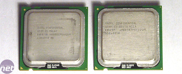 Intel Pentium 4 670 & Pentium D 820 Pentium D 820