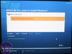 Windows Vista - First Impressions Installation