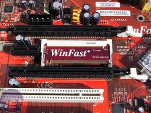 Foxconn WinFast NF4SK8AA-8EKRS The Board