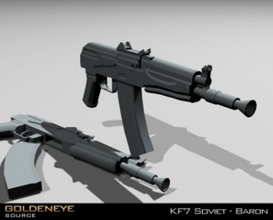 GoldenEye: Source Preview Weapons
