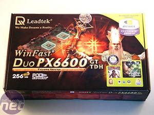 Leadtek Duo PX6600GT TDH Extreme Bundle & Test Setup