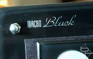 Macro Black Intro 4 - Controls and Display