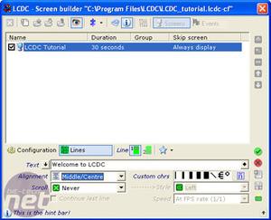 Matrix Orbital MX610 LCD display LCDC Tutorial