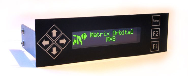 Matrix Orbital MX610 LCD display Introduction