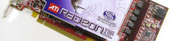 Sapphire Radeon X1800XL Sapphire X1800XL