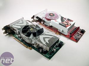 NVIDIA GeForce 7800 GTX 512MB & ATI Radeon X1800XT 512MB