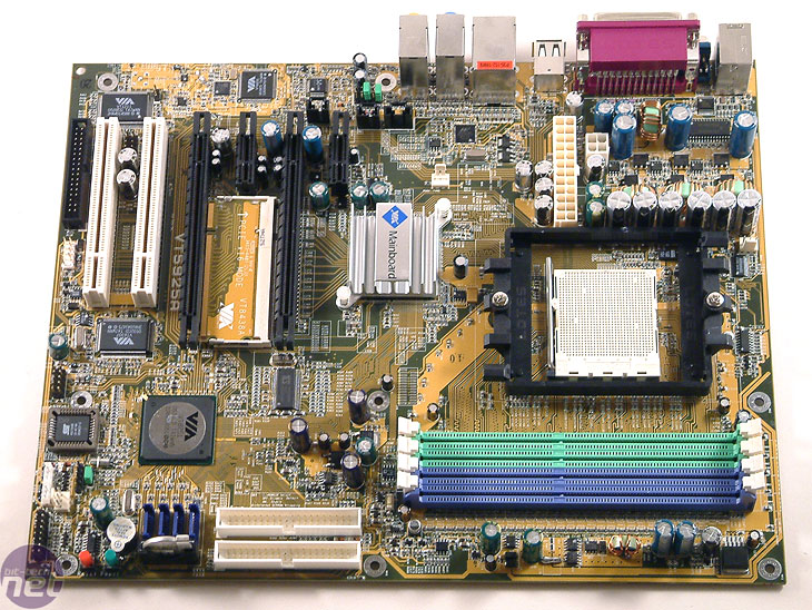 First Look: VIA K8T900 K8T900 Reference Board