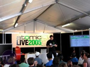 Atomic Live 2005 Introduction