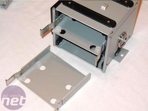 Antec P180 low-noise case Assembly