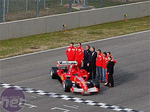 Ferrari's latest F1 launch Ferrari 248 F1 car
