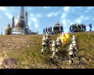 Star Wars: Empire at War Gameplay