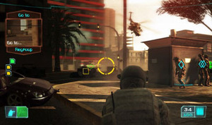 Ghost Recon: Advanced Warfighter Gameplay
